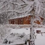 11: Chalet Grand Ecureuil et Petit Ecureuil sous la neige