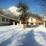 5: Chalet Abri terrasse sud sous la neige