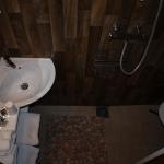 6: Salle d'eau avec WC, douche en siphon de sol