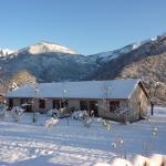 11: vue globale du chalet en hiver