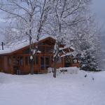 1: Chalet tilleul sous la neige